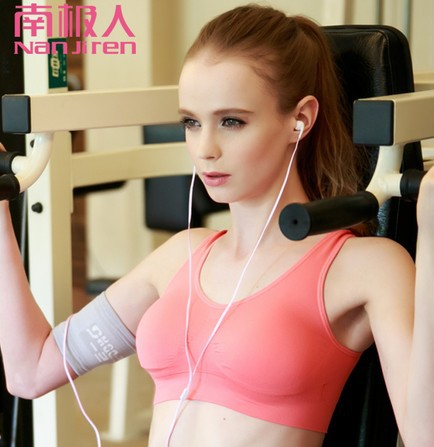 b71b83e6083 Summer dress Running shockproof vest sleep Seamless underwear thin section  no rims bra girl sports-in Bras from Underwear   Sleepwears on  Aliexpress.com ...