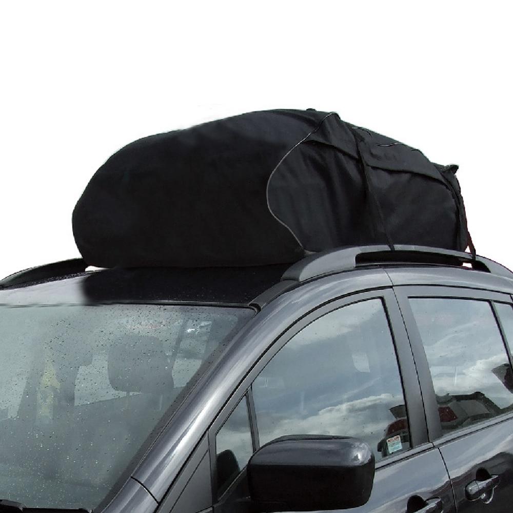 Us 39 96 42 Off Universal Car Roof Top Bag Rack Cargo Carrier Luggage Storage Travel Waterproof Touring Suv Van In Racks Bo From