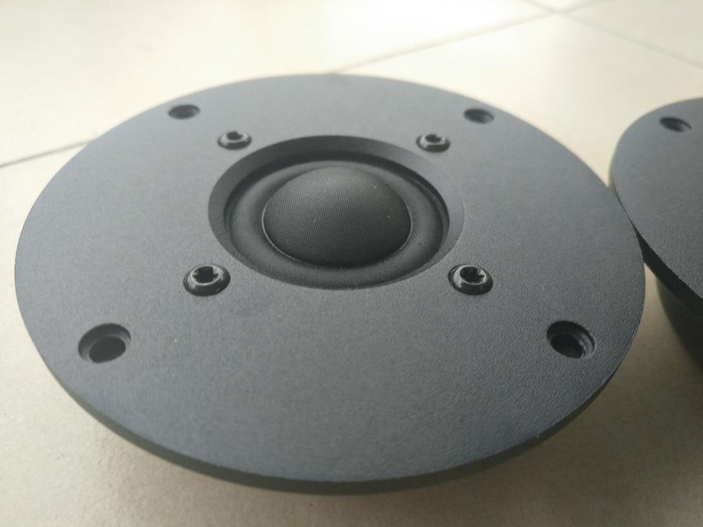 Coppia 2 pz Melo david davidlouis HIEND audio 25mm dome tweeter in tessuto. 9 pz NEO magnete spedizione gratuita