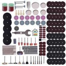 For Dremel Grinder 147pc Rotary Tool Accessory Attachment Set Kit Sandpaper Band Polishing Sander Abrasive