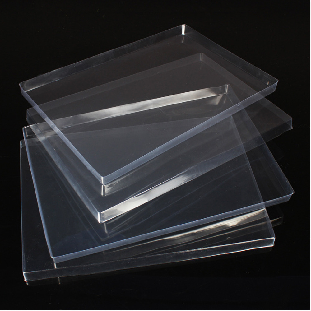 2015 New Transparent Plastic Cover Jewelry Display Tray