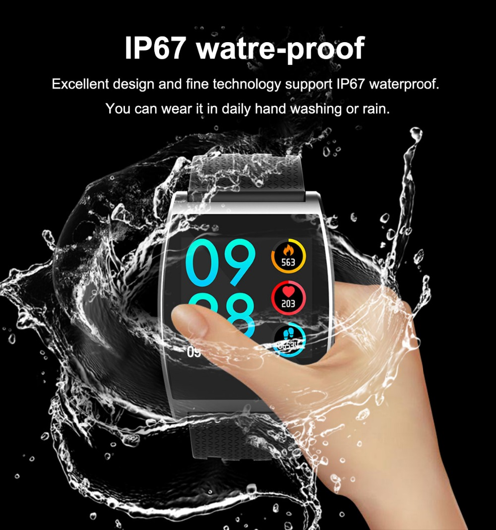 2018 Smart Watch QS05 Wristband With Blood Pressure Blood Oxygen Heart Rate Monitor Sports Activity Tracker Fitness Smartwatch (3)