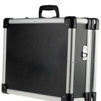 Алюминиевая Рама ABS пластина багаж чемодан для путешествий многофункциональный ящик для инструментов двойной замок Коробка для отдыха сум