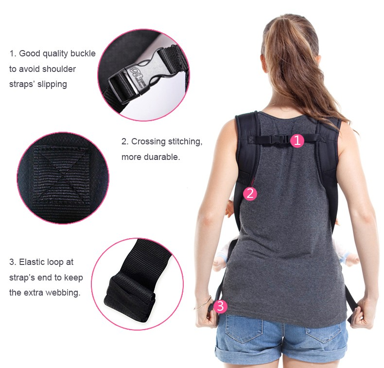 Multifunction Breathable Newborn Baby Sling Carrier