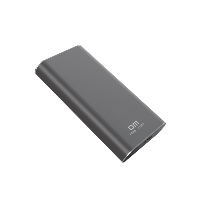 Image 5 - DM FS300 External Solid State Drives 256GB/512GB/1TB Portable SSD External hard drive hdd for laptop with Type C USB 3.1 GREY-in Internal Solid State Drives from Computer & Office