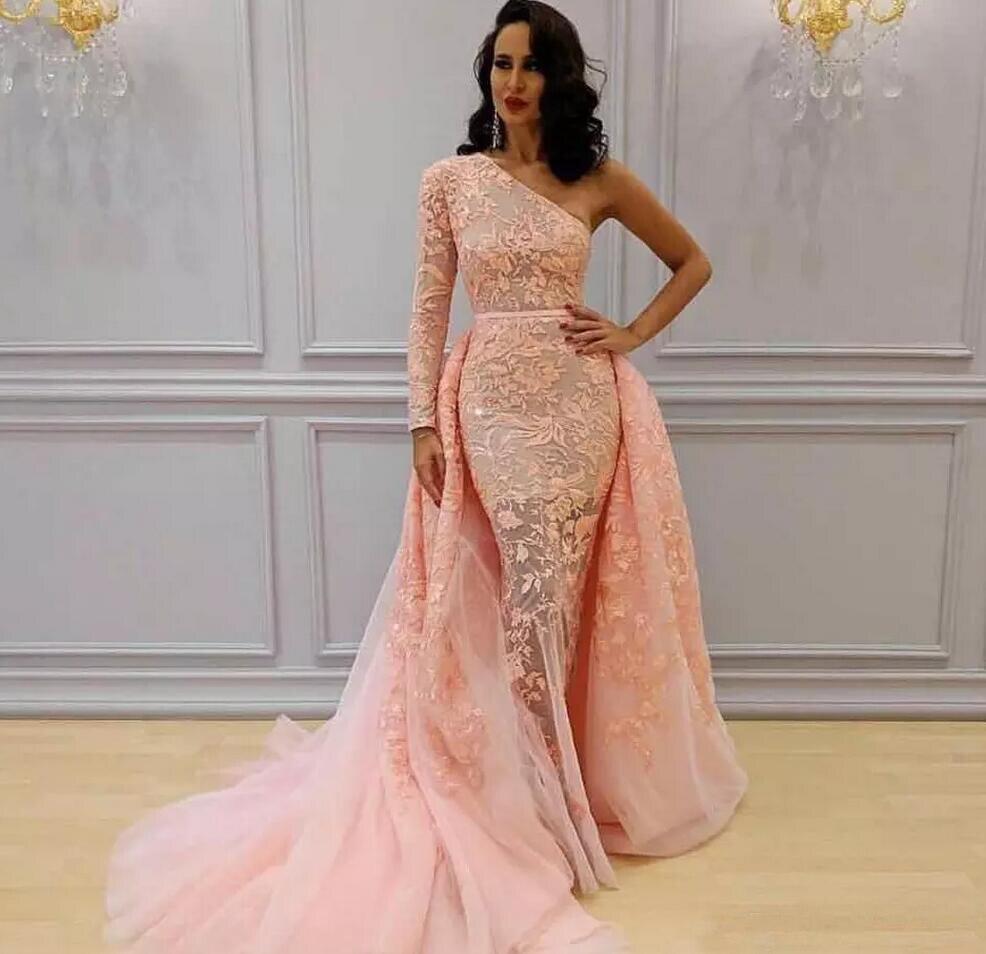 Ihram Kids For Sale Dubai: 2019 Fashionable Saudi Arabic Blush Lace Prom Dress With