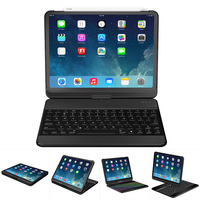 360 Degree Rotation case for ipad pro 11 inch with Wireless Bluetooth Keyboard Swivel Stand Heavy Duty Shockproof Flip case
