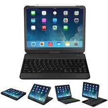 Funda con rotación de 360 grados para ipad pro, 11 pulgadas, con soporte giratorio de teclado inalámbrico Bluetooth, resistente, a prueba de golpes