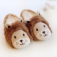 High Quality Imitation Rabbit Fur Winter Warm Home Slippers Couples Silky Plush Women Men Indoor Floor