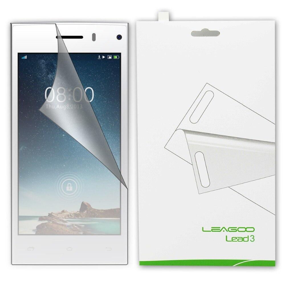 2015 iRulu Clear Screen Protector Film Leagoo Lead 3 3S Smart Cell Phone - TED store