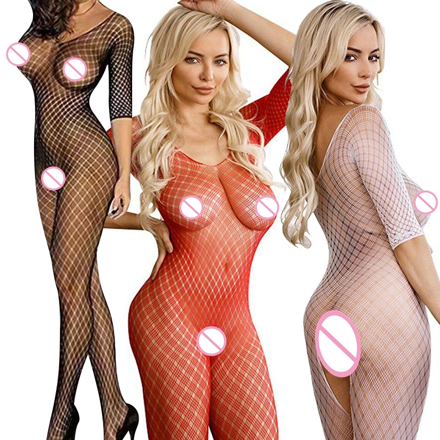 Women Stocking Open Crotch Fishnet Stockings <font><b>Sexy</b></font> <font><b>Tight</b></font> Plus Size <font><b>BodyStocking</b></font> Transparent <font><b>Sexy</b></font> <font><b>Lingerie</b></font> Lenceria Femenina image