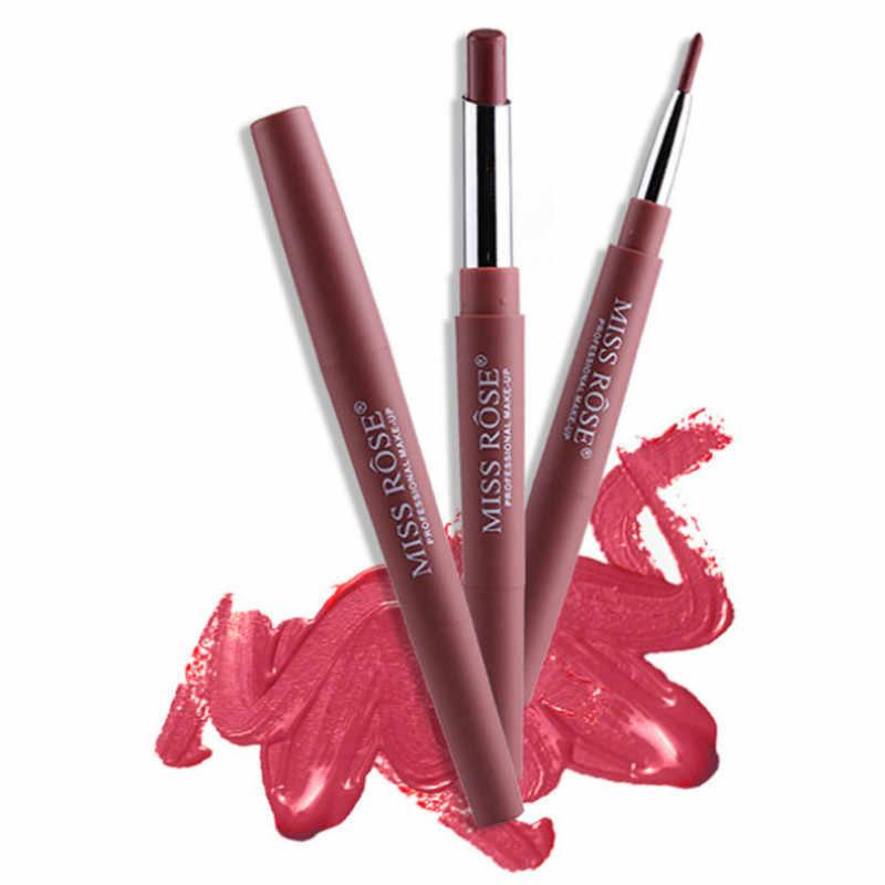 Sexy Red Matte Lipgloss Sexy Flüssigkeit Lip Gloss Matte Langlebig Wasserdicht Kosmetische Schönheit Halten 24 Stunden Make-Up Lippen