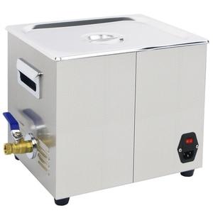 Image 4 - Banho de Limpeza ultra sônica 10L Degas Aquecedor 360 W/240 W 40 KHZ Lavadora Ultra sônica para Carro Motor de Laboratório Eletrônico partes de Óleo De Manchas Dental