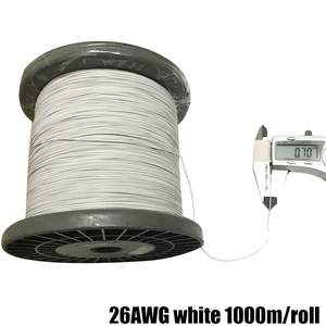 UL10064 26AWG 30AWG 32AWG 34AWG ultra-fine special fine OK line electronic line FEP PTFE high temperature multi-strand wire
