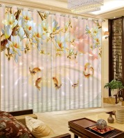New Arrival Chinese Curtains 3D Curtains Custom 3D Photo fish marble Curtains For Living Room Curtains For Bedroom
