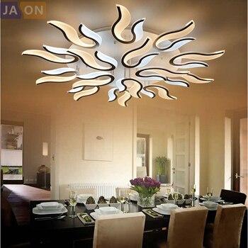 LED Moderne Eisen Acryl Feuer FÜHRTE Lampe. LED-Licht ...