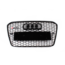 2012~2015 RS5 Style black Front Bumper mesh Grill Grille Car-styling for audi A5 RS5