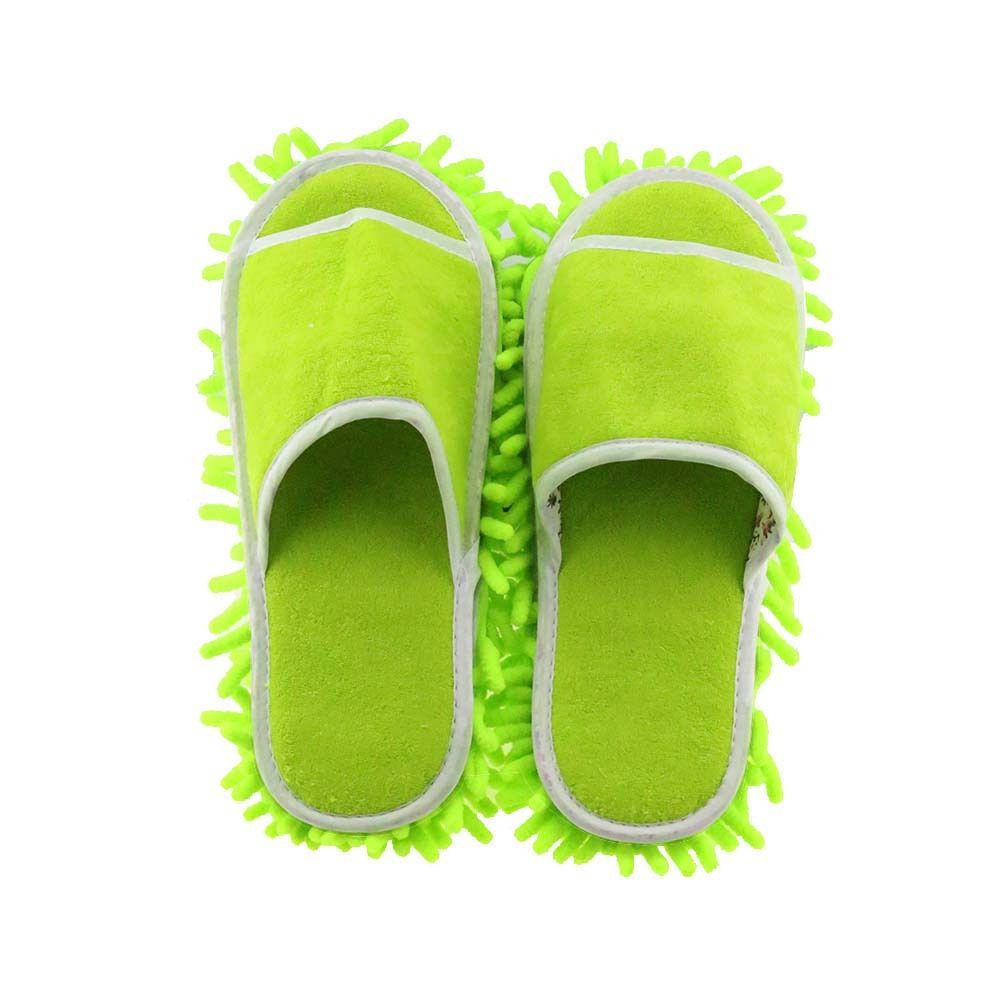 Multifunction Microfiber Chenille Floor Dust Cleaning Slippers Mop Lap Shoes Wigs House Home Cloth Clean Clean