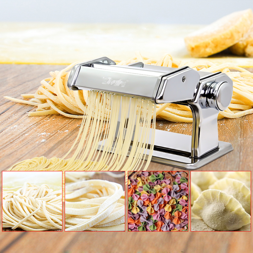 1PC Household Mini Pasta Machine Manual Metal Spaetzle Makers Pressing Machine Pole Head Mingled Split Noodle Tools цена и фото