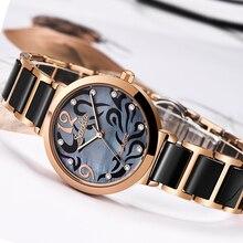 SUNKTA 2019 marque chaude femmes montres femmes reloj mujer luxe robe Montre dames Quartz Rose or Montre bracelet Montre Femme cadeau