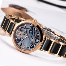 SUNKTA 2019 ホットブランド女性腕時計女性リロイ mujer 高級ドレスウォッチレディースクォーツローズゴールド腕時計 Montre ファムギフト