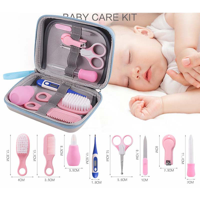 8pcs/set Baby Kids Toddler Healthcare Kits Nail Nasale Hair Grooming Care Set Nail Clipper Hair Comb Nail Scissor Multi Tool Baby Care Back To Search Resultsmother & Kids