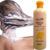 Jengibre champú alisado straightener masajeador de cuero cabelludo tratamiento de hidratación profunda reparación profesional para todo tipo de cabello