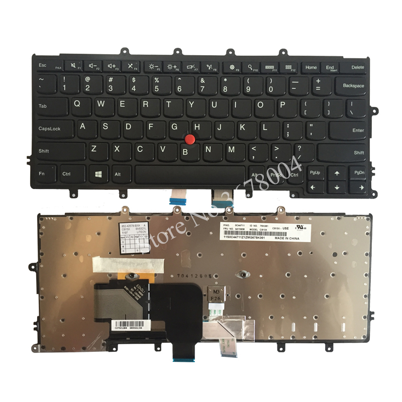 New US Keyboard For Lenovo Thinkpad X230S X240S X240 X250 US laptop Keyboard without backlight black 04Y0938 100% brand new original laptop keyboard for lenovo ibm thinkpad x240 x240s keyboard 04x0177 us black backlit free shipping