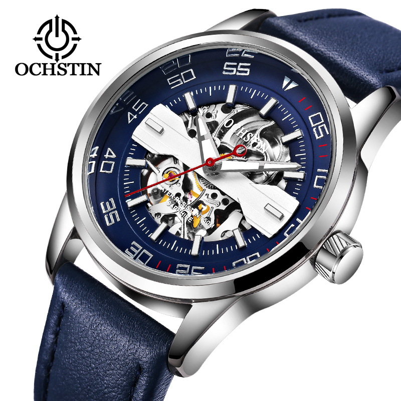 2018 OCHSTIN Sport Design Watch Mens Watches Top Brand Luxury Montre Homme Clock Men Automatic Skeleton Watch