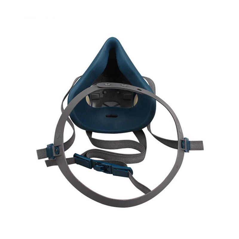 3m 6502 قناع جهاز التنفس الإصدار القياسي عالية الجودة قناع جهاز التنفس يمكن استخدامها مع 3m 6000 سلسلة تصفية الغبار قناع واقي من الغاز
