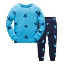 New Children pajamas sets dinosaur pattern pyjamas kids pijama infantil sleepwear home clothing cartoon cotton Baby pajamas 2-7Y