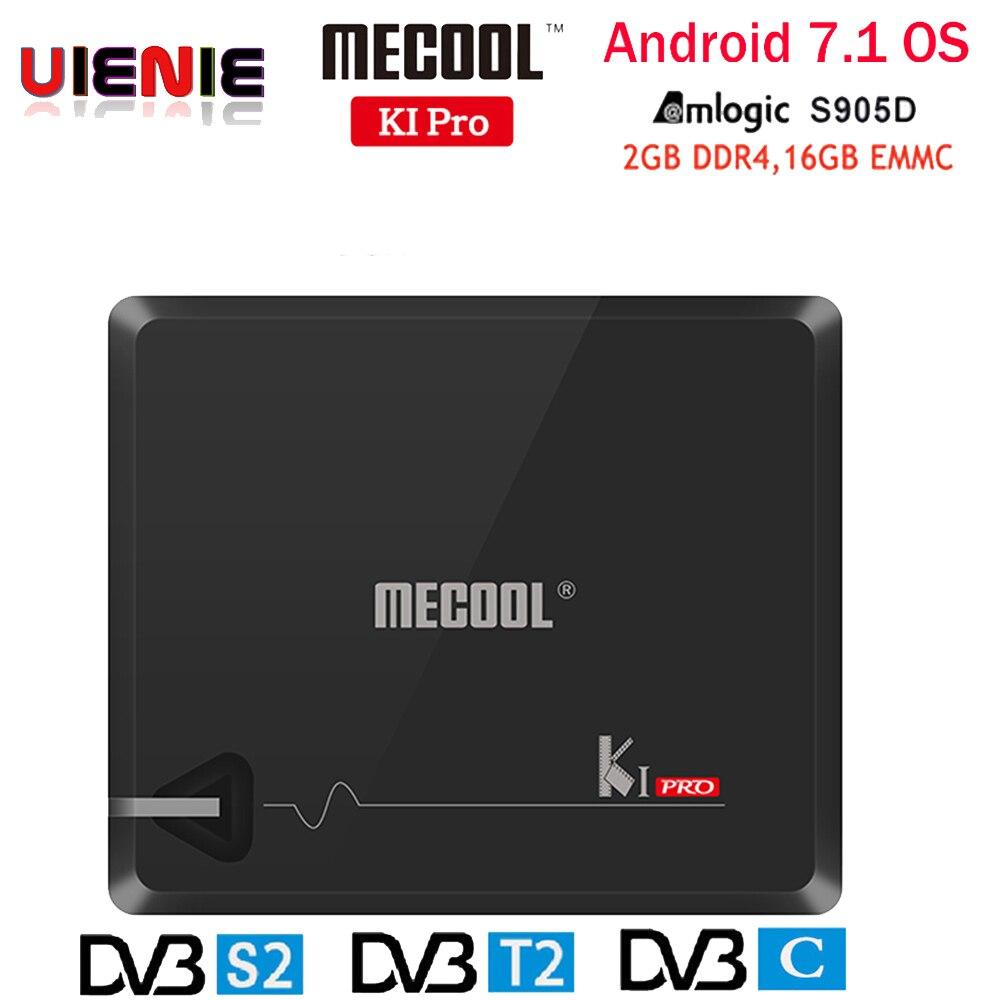 MECOOL KI PRO TV Box KI PRO S2+T2 DVB Amlogic S905D Quad 2G+16G Support DVB T2&S2/DVB T2/DVBS2 Set Top Box Android KIPRO TV Box-in Set-top Boxes from Consumer Electronics    1