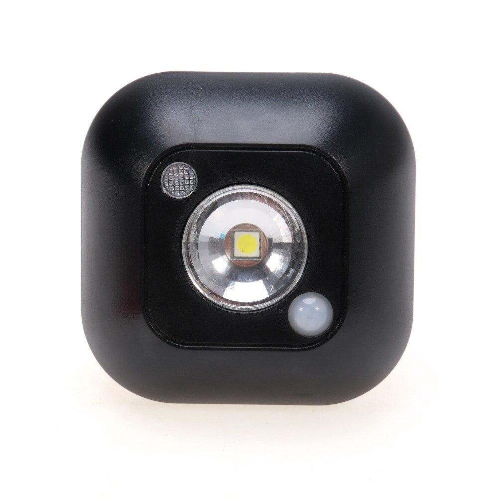 Night Light PIR Motion Sensor Infrared Lamp warbrobe Ceiling Shoe Cabinet LED Wireless Wall Light Emergency Light Bookcase light