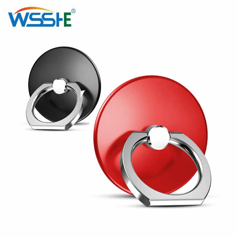 Doigt socle support de téléphone Cercle Poignée support pour téléphone Smartphones pour iphone 7 6 xiaomi mi8 5 plus Téléphone portable porte-anneau