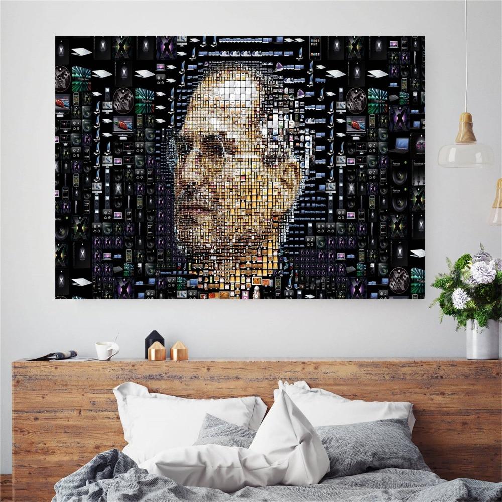 Charmant Steve Jobs Digitale Leinwand Kunstdruck Malerei Poster Wand Bild Für  Wohnzimmer Home Dekorative Schlafzimmer Decor Kein Rahmen