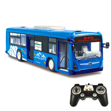 2017 New Bus Motel Simulation City Bus Remote Control Car Rechargeable Children's RC Toys RC16(1)