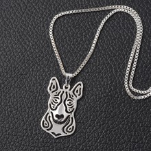 Bull Terrier Necklace Chic