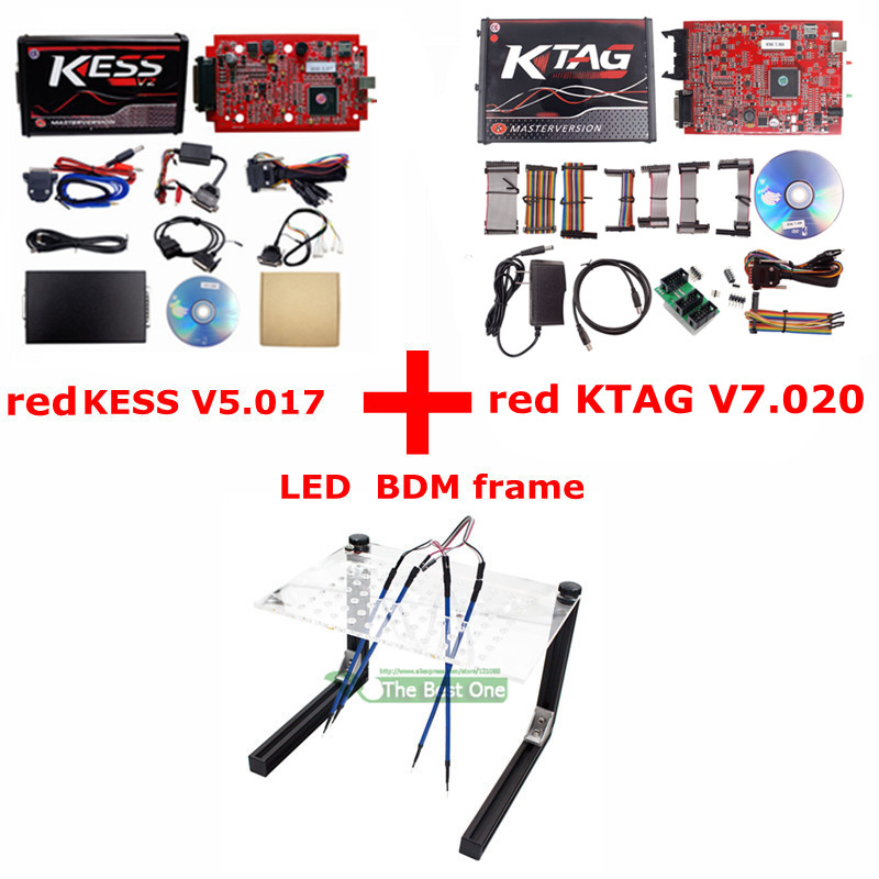 KESS KTAG LED FRAME