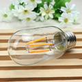 E27 112mm T45 4W Retro LED Filament Edison Lamp Light Bulb 220V  Led Cob light
