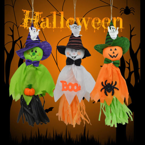 Image 2 - Halloween Ghost Hanging Decoration Indoor/Outdoor Specter Party Ornament Utility-in Party DIY Decorations from Home & Garden