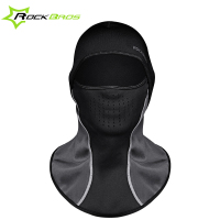 ROCKBROS Winter Face Mask Scarf Cap Neck Headwear Face Women Hat Ski Mask Dust Warm Half