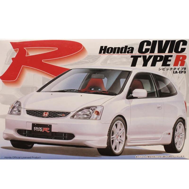 1/24 Assembly Models Honda Civic Type R LA - EP3 03539