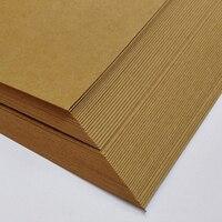 250gsm A4/A3 50 adet Kalın Kahverengi Kraft Kağıt DIY Handmake Kart Yapma Craft Kağıt Yüksek Kalite Kalın Karton karton