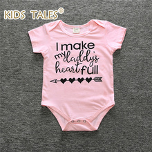 YZ044 2017 Overalls Baby Newborn Children Boy Girl Clothes Overalls Cotton Short Sleeve Sliders Overalls Clothes Pink Outfit