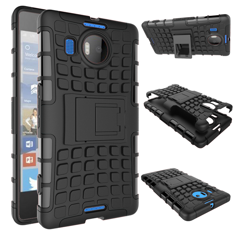 Nokia Lumia 640 XL 540 Case Armor Hard Plastic Mobile Phone Case Nokia Lumia 950XL ShockProof TPU cover Nokia 650 850 stand Case