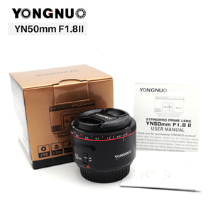 Image 4 - الأصلي YN50mm F1.8 II فتحة كبيرة عدسات تركيز السيارات YONGNUO لكانون بوكيه تأثير كاميرا عدسات لكاميرات كانون EOS 70D 5D2 5D3 DSLR