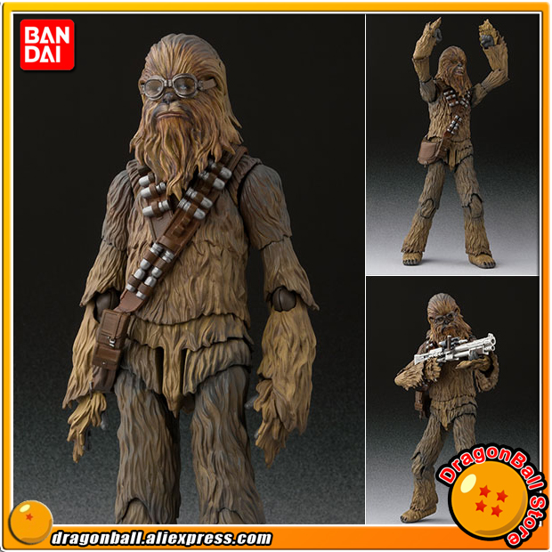 Anime Solo: A Star Wars Story Original BANDAI Tamashii Nations S.H. Figuarts / SHF Action Figure - Chewbacca (SOLO) original bandai tamashii nations s h figuarts shf action figure kylo ren from star wars the force awakens