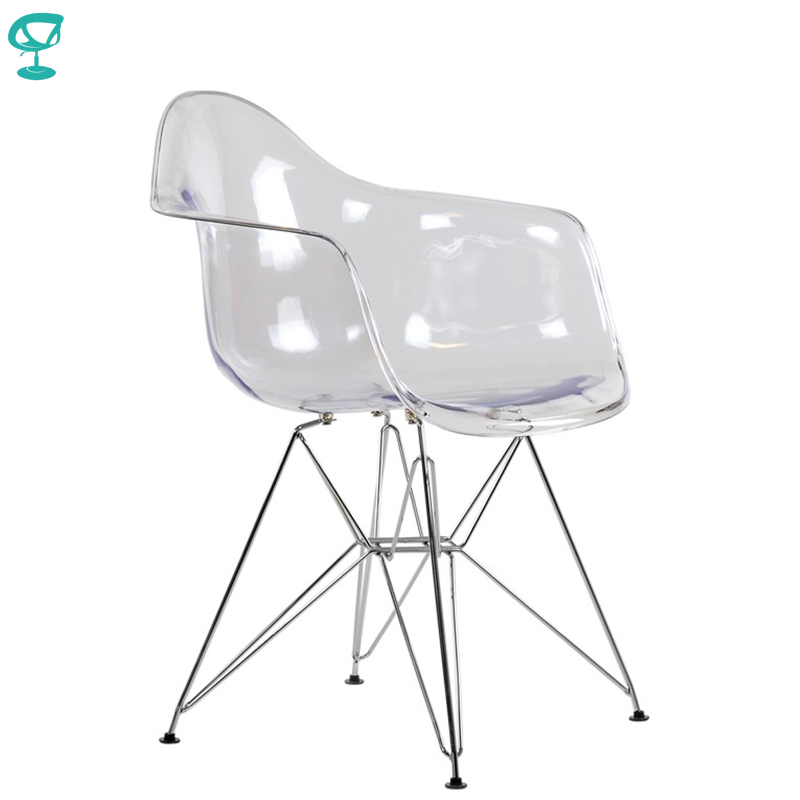 95222 Barneo N-14-14 Plastic Kitchen Breakfast Interior Stool Bar Chair Kitchen Furniture Transparent Free Shipping In Russia