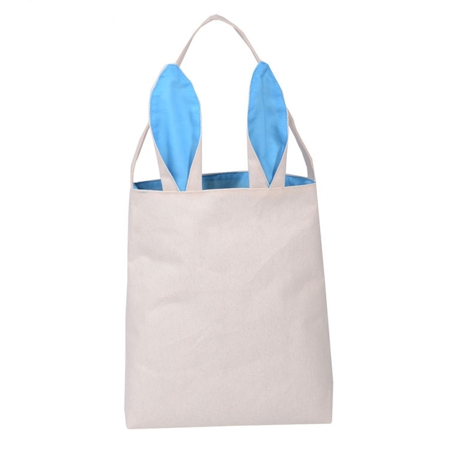 50pcs easter bunny bag cute rabbit ears bags cotton burlap material 50pcs easter bunny bag cute rabbit ears bags cotton burlap material wedding party gifts decoration free negle Gallery