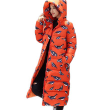 Ватные Хлопок Куртка Женщин Новый Зимнее Пальто Женская Мода Теплый Парки С Капюшоном женская Куртка Повседневная Пальто Плюс Размер 3XL JX034